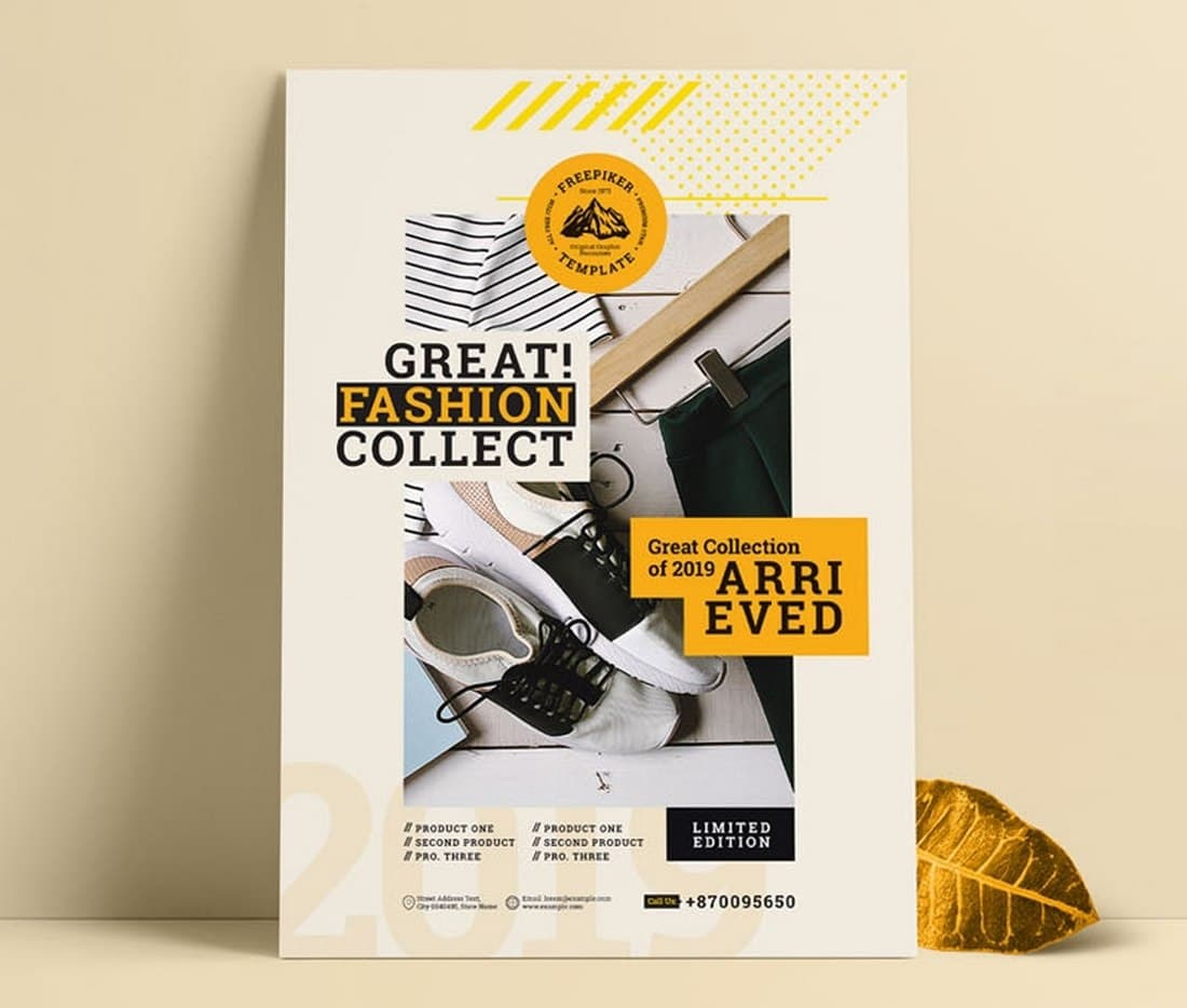 Free-Fashion-Sale-And-Product-Promotion-Brochure 20+ Free Brochure Templates for Word (Tri-Fold, Half Fold & More) design tips