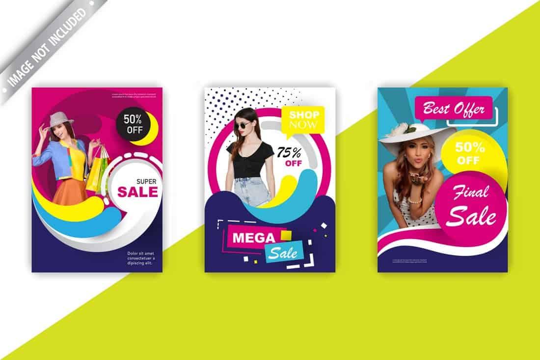 Free Fashion Sale Flyer Templates