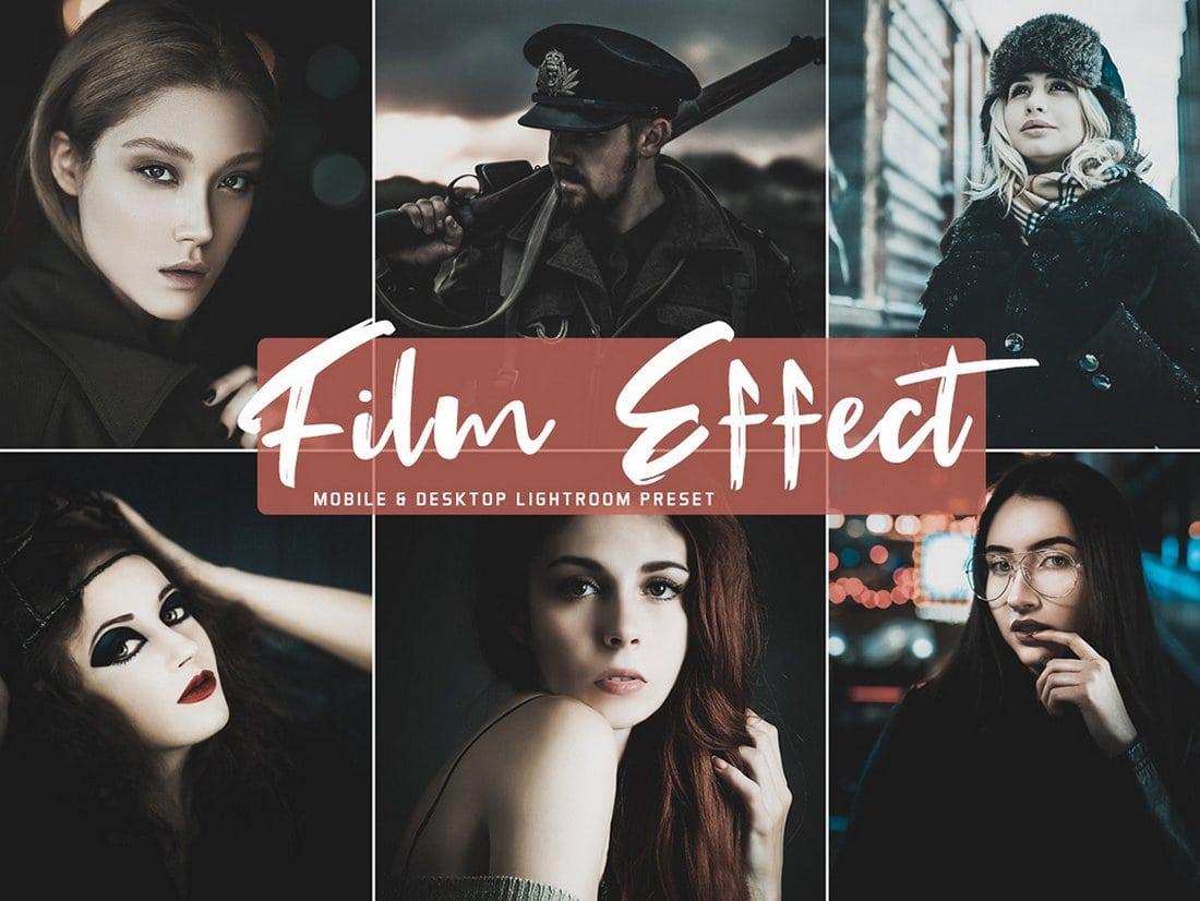 Free Film Effect Mobile and Desktop Lightroom Presets