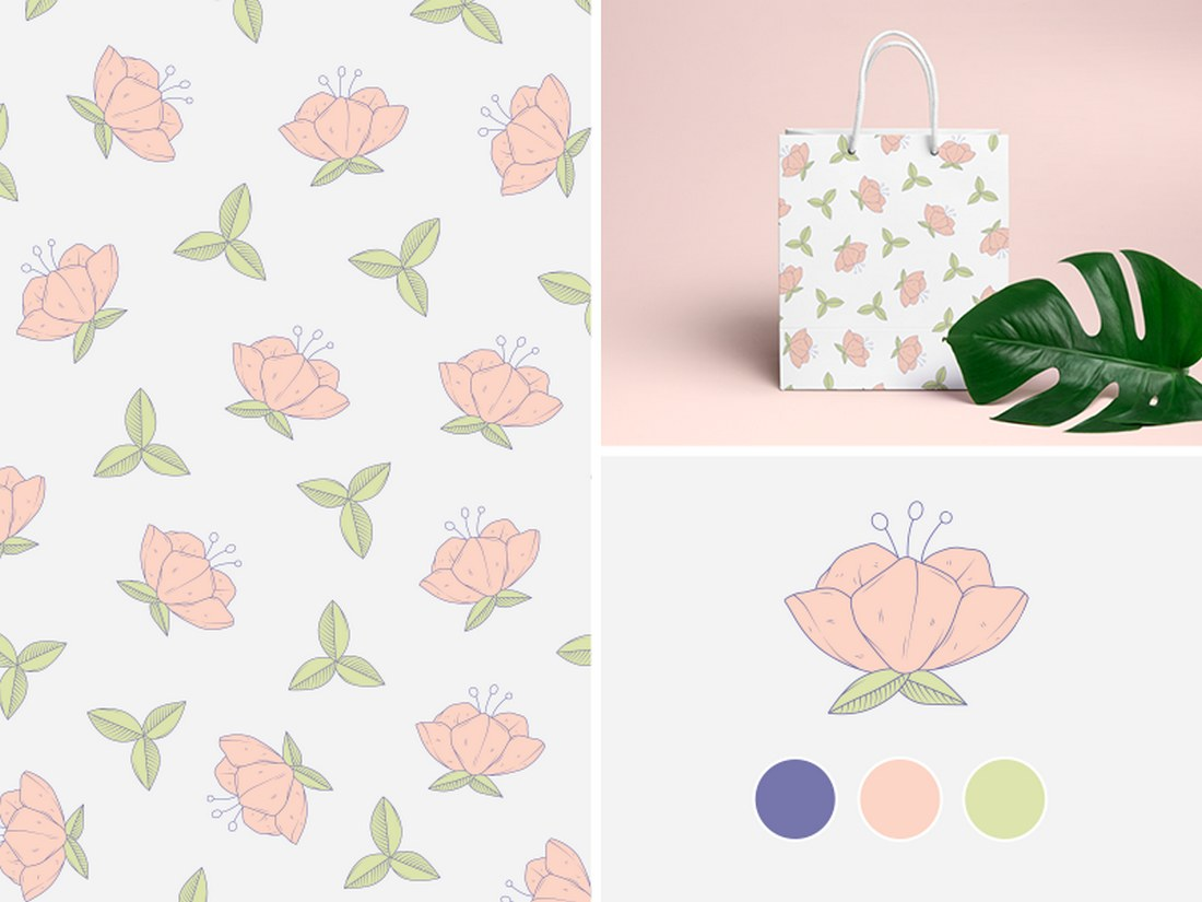 Free-Flower-Pattern 50+ Best Free Photoshop Patterns 2021 design tips