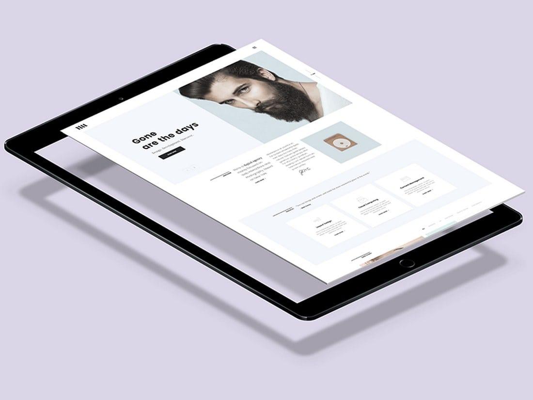 Free-Flying-iPad-Pro-Mockup 100+ iPad Mockup PSD & PNG Templates design tips