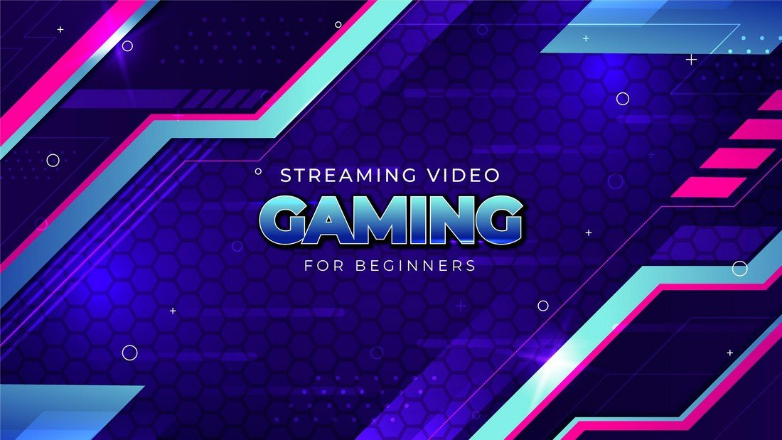 Free Gaming YouTube Banner Template