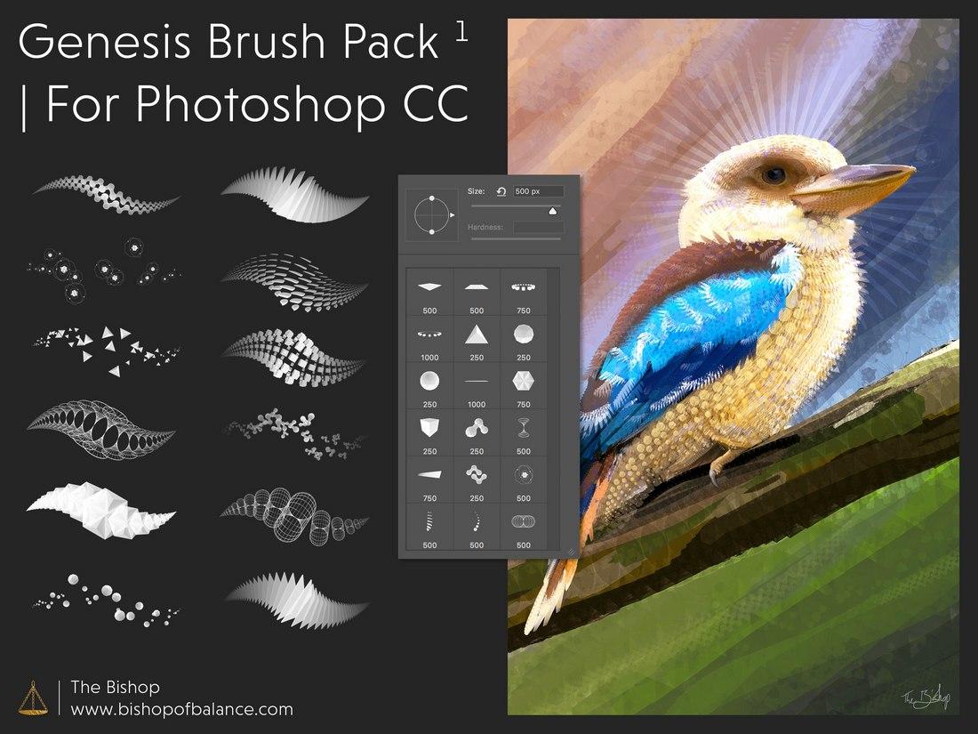 Free Genesis Brush Pack