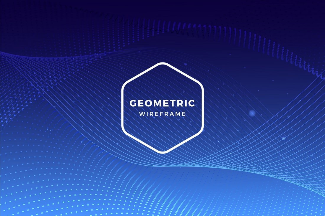 Free Geometric Background