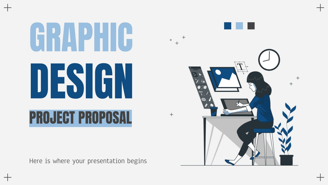 Free Graphic Design Project Proposal Template