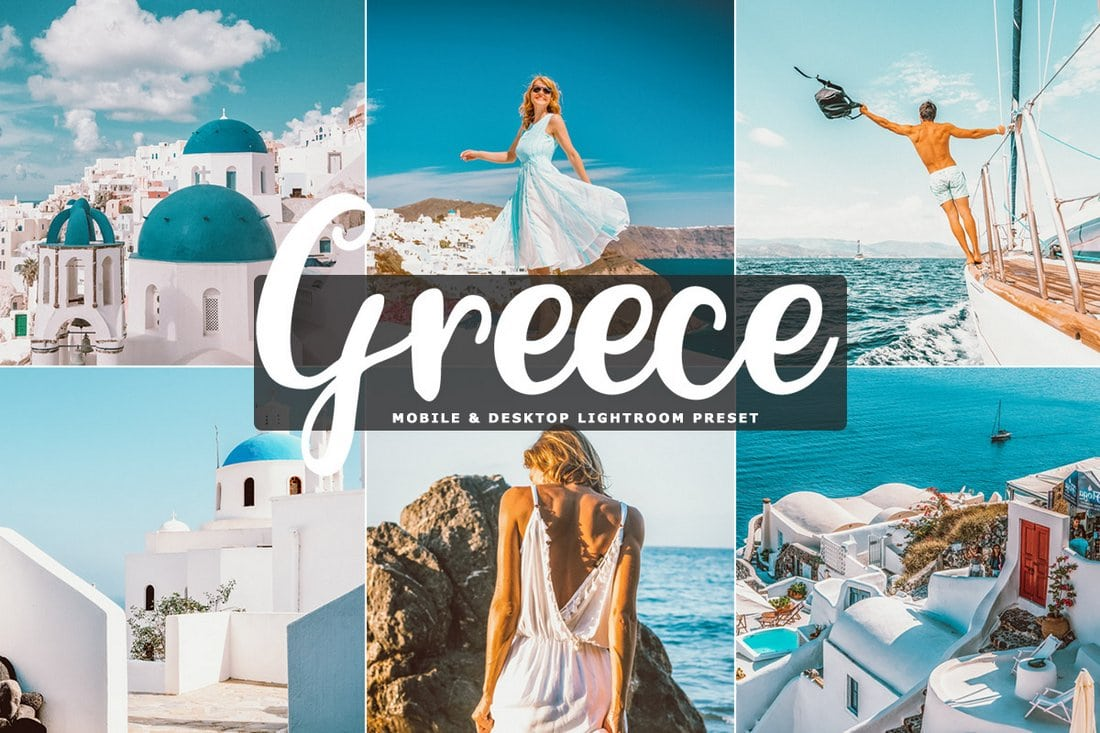 Free Greece Instagram Photoshop Actions