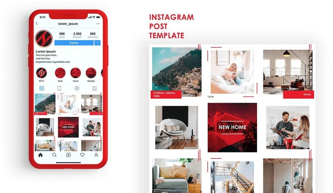 10 Unique Instagram Layout Ideas Concepts Design Shack