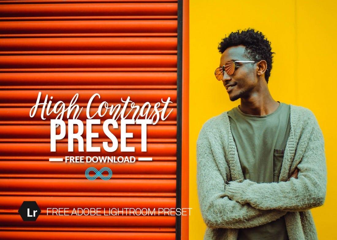 Free-High-Contrast-Lightroom-Preset 20+ Professional Lightroom Presets design tips  Inspiration