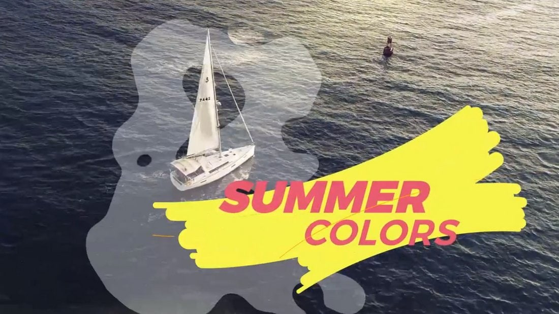 Free Inspiring Summer Slideshow Template