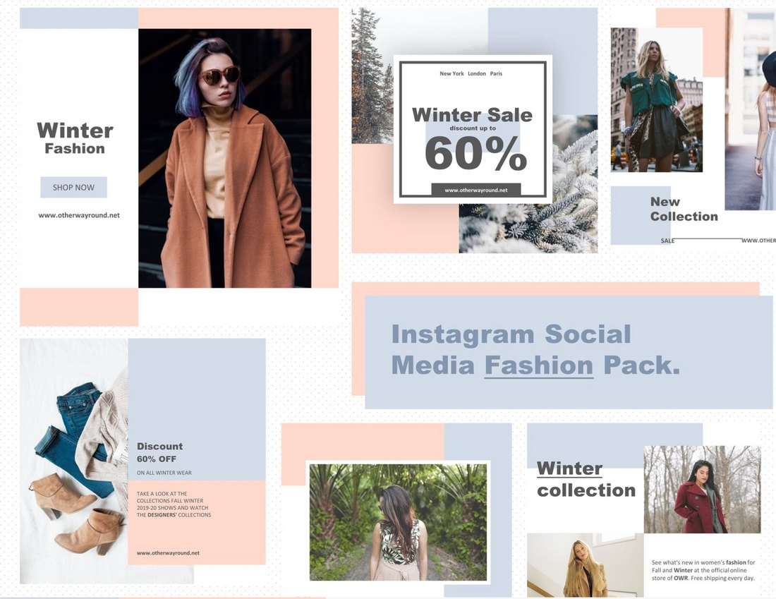 Free Instagram Fashion Promo Templates