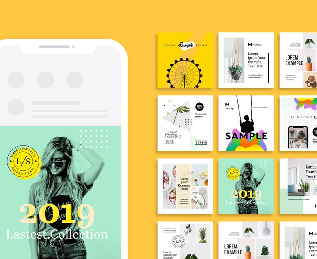 20+ Best Instagram Giveaway Templates (+ Giveaway Ideas)
