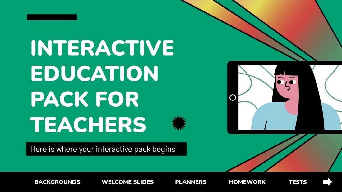 Free Interactive Education PPT for Teachers