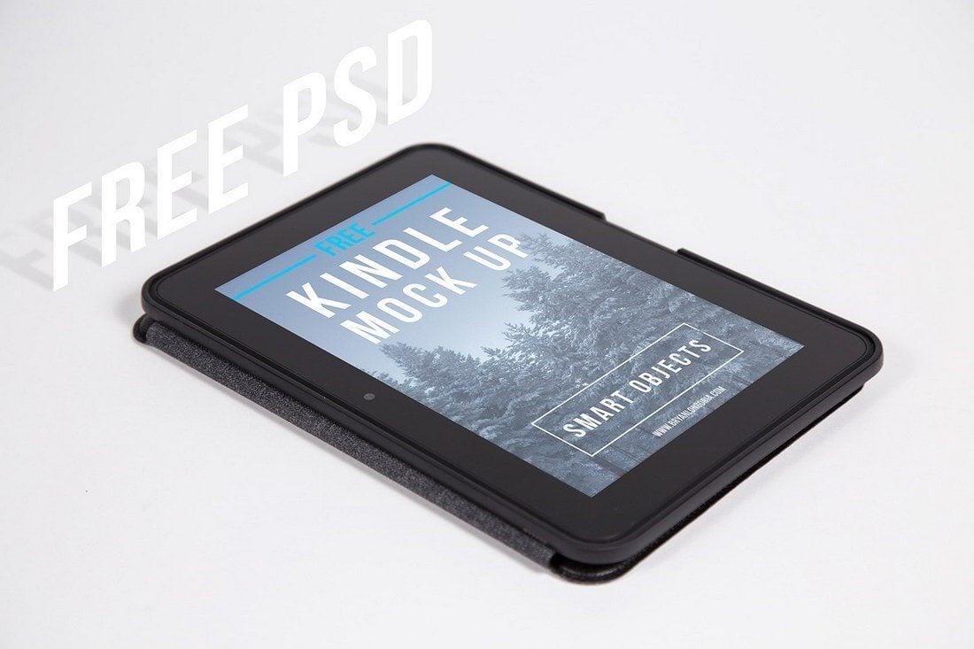 Free-Kindle-Fire-HD-Isometric-Mockup 30+ Best Isometric Mockup Templates design tips
