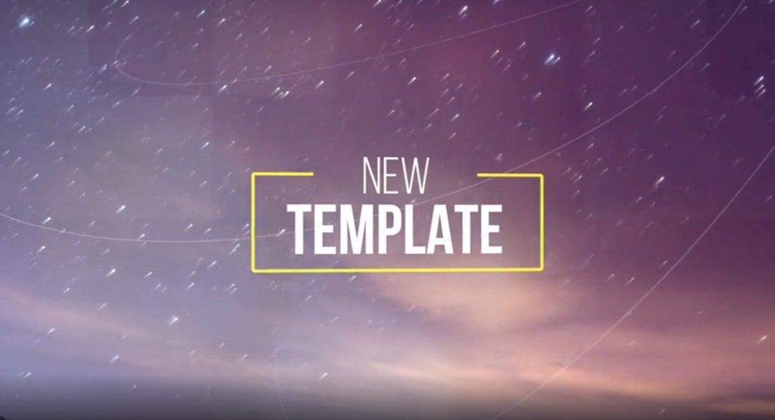 Free Large Title Slideshow Premiere Pro Template