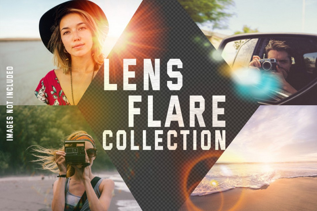 Free Lens Flare Photoshop Effects
