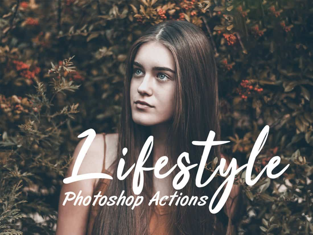 Free Lifestyle Photoshop Actions