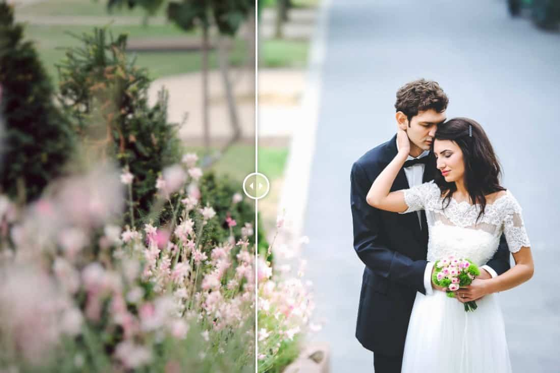 Free Lightroom Preset Elegant Wedding