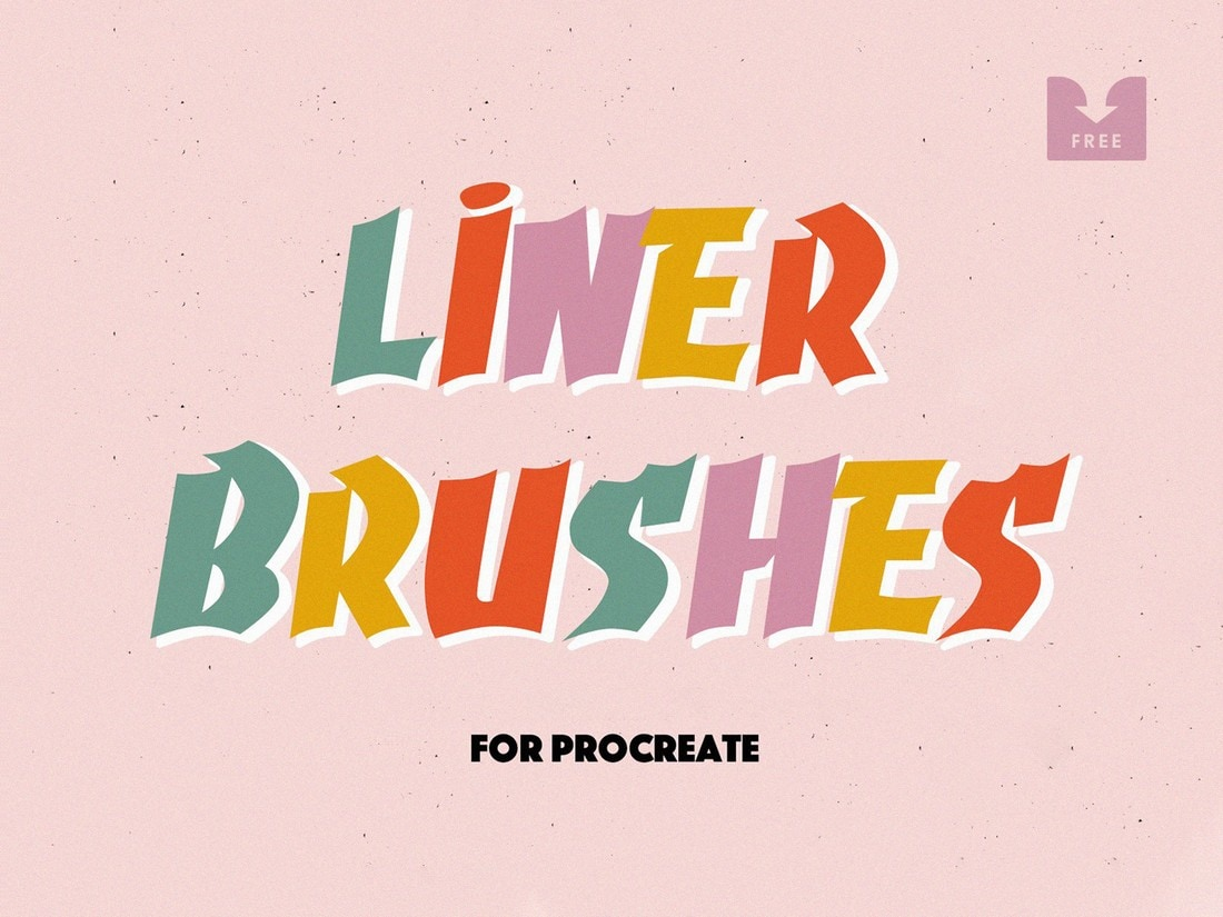 Free-Liner-Procreate-Brushes 30+ Best Procreate Brushes 2020 (Free & Pro) design tips