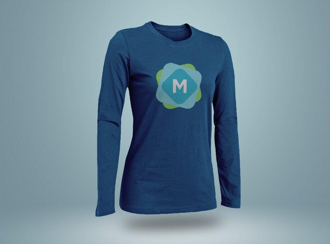Free Long & Short Sleeve T-Shirt Mockups