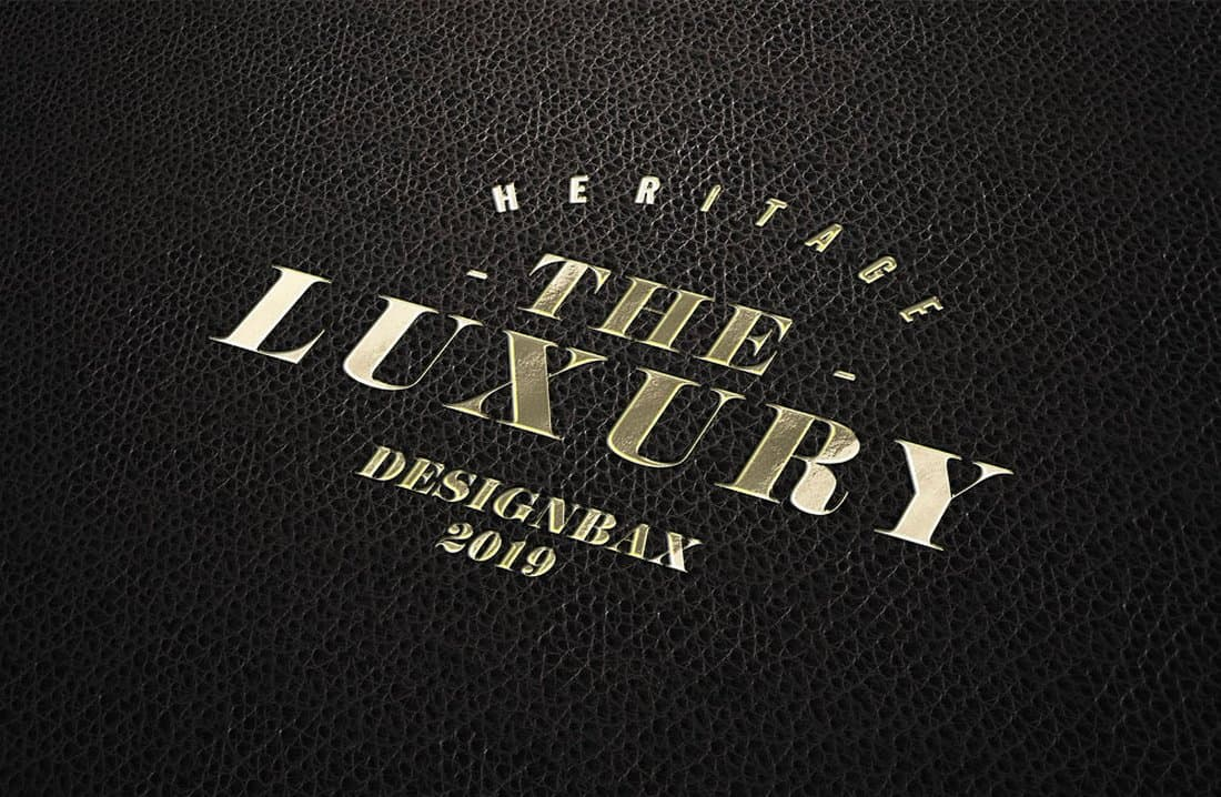 Free-Luxury-Logo-Mockup 100+ Logo Mockup Templates (PSD & Vector) design tips