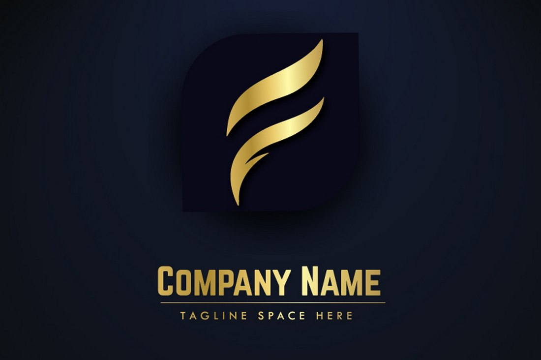 Free Luxury Logo Template