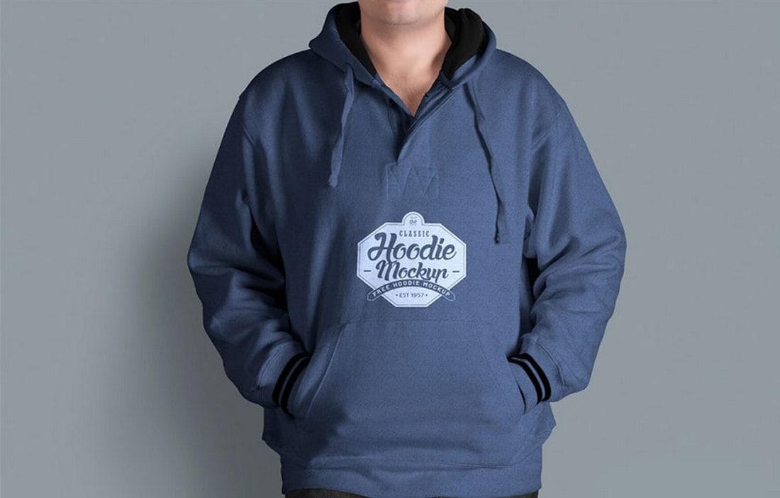 Free-Mens-Hoodie-Mockup-Template 20+ Hoodie Mockup Templates (Free & Premium) design tips  Inspiration