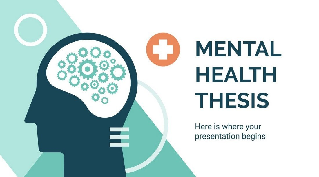 Free Mental Health Thesis Presentation Template