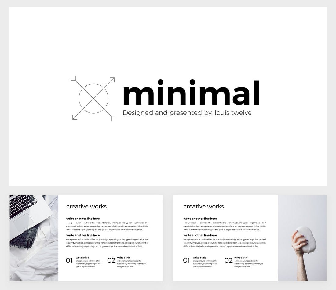 Free-Minimal-Google-Slides-Template 35+ Best Google Slides Themes & Templates 2019 design tips