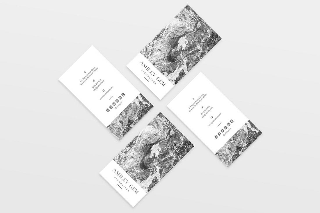 Free Minimal Modern Business Card Template
