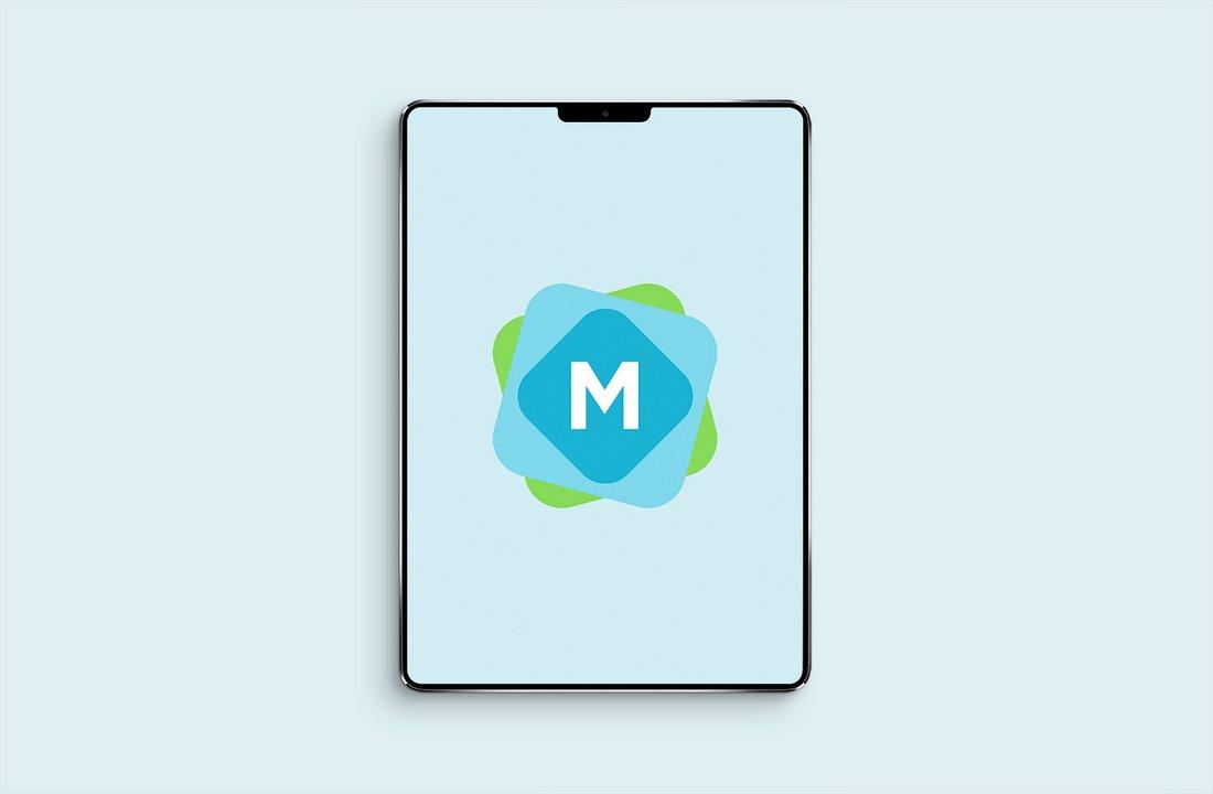 Free Minimal iPad Pro Mockup