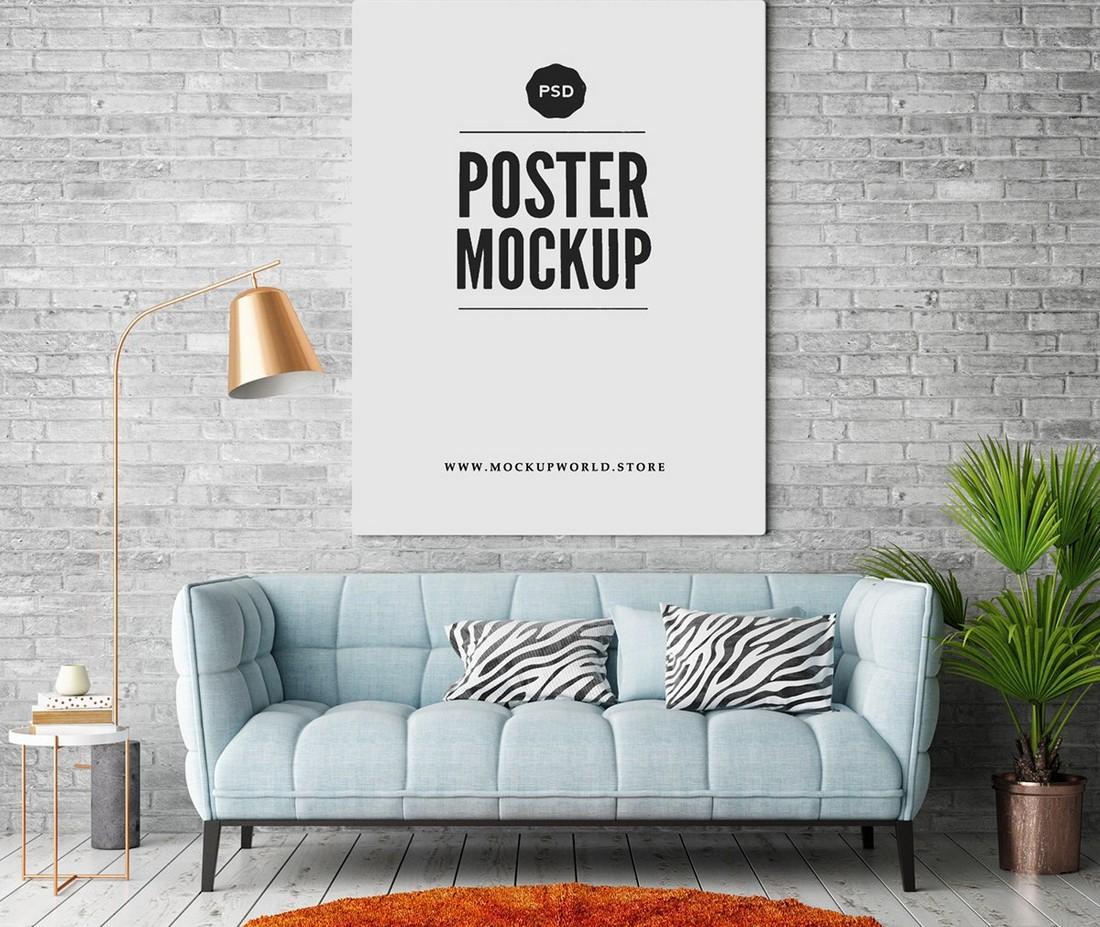 30 Best Poster Mockup Templates 2021 Design Shack