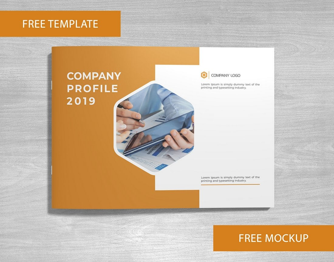 Free Modern Corporate Brochure Template