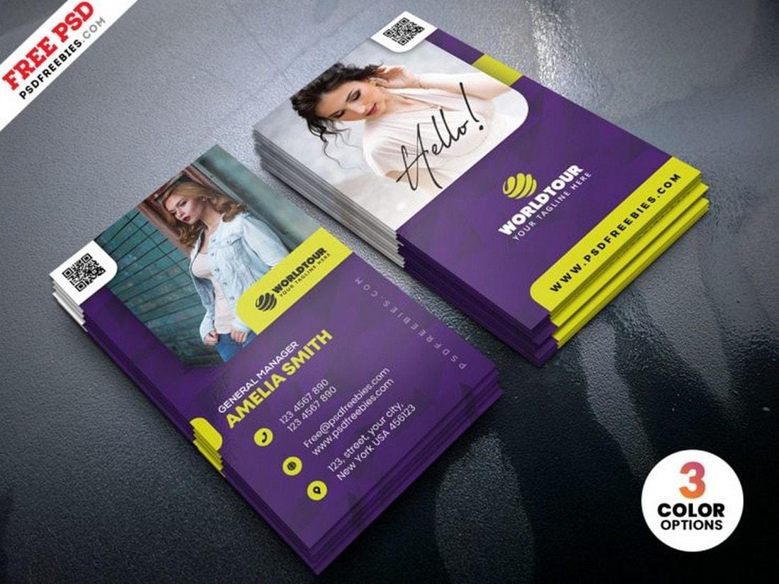 Free Modern Creative Business Card