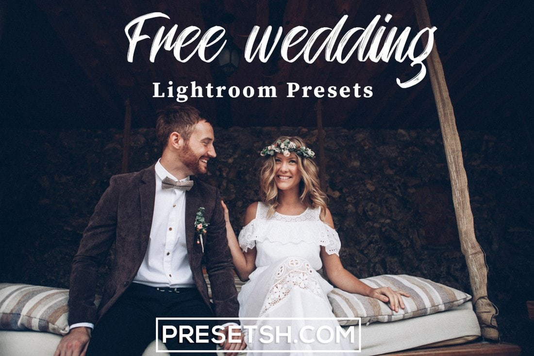 Free Modern Wedding Lightroom Presets