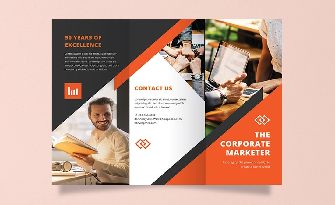 Free-Modern-Word-Brochure-Template 20+ Free Brochure Templates for Word (Tri-Fold, Half Fold & More) design tips
