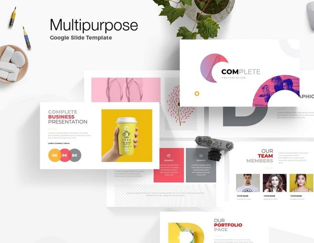 Free Multipurpose Google Slide Template