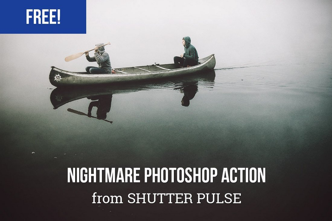 Free Nightmare Photoshop Action
