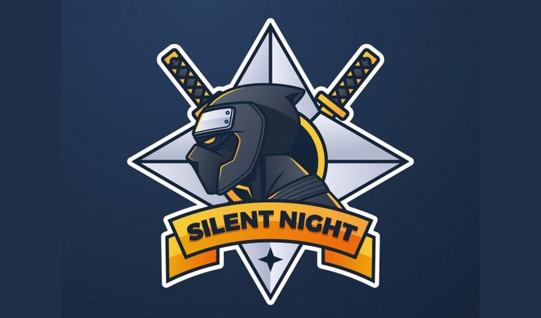 Free Ninja Gaming Logo Template