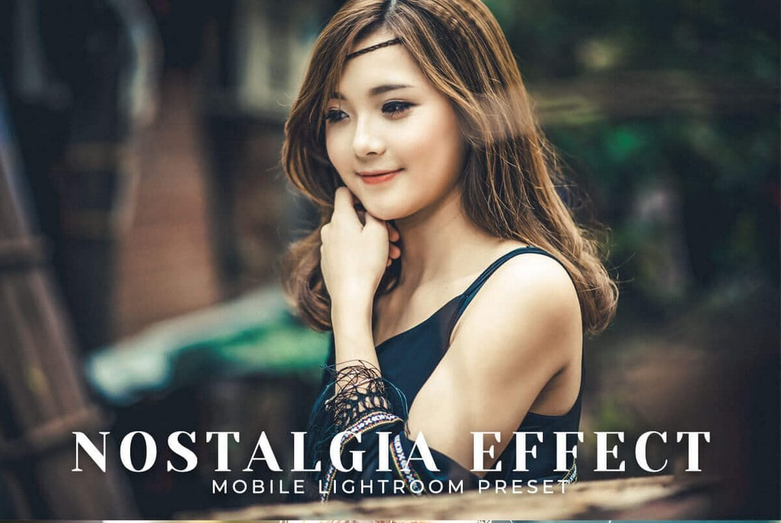 Free-Nostalgia-Effect-Mobile-Lightroom-Preset 50+ Best Lightroom Presets for Portraits (Free & Pro) 2020 design tips