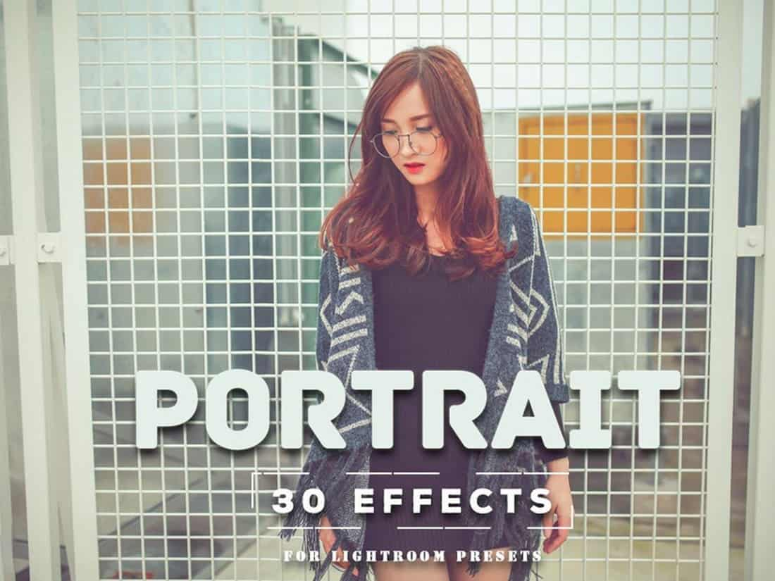 Free Outdoor Portrait Effect Lightroom Presets