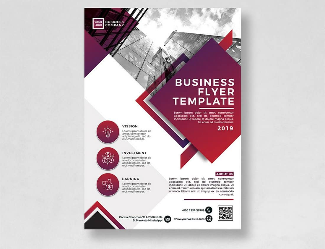 Business Flyer Templates Word Psd