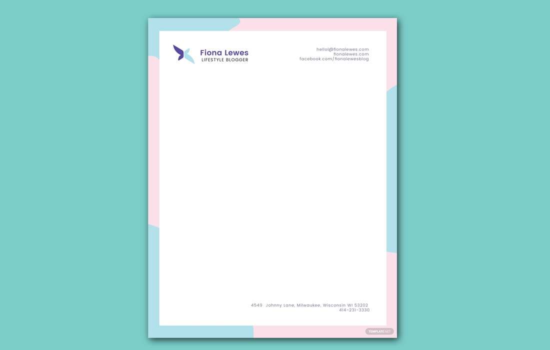 Free-Personal-Letterhead-Template 20+ Best Microsoft Word Letterhead Templates (Free & Premium) design tips  Inspiration