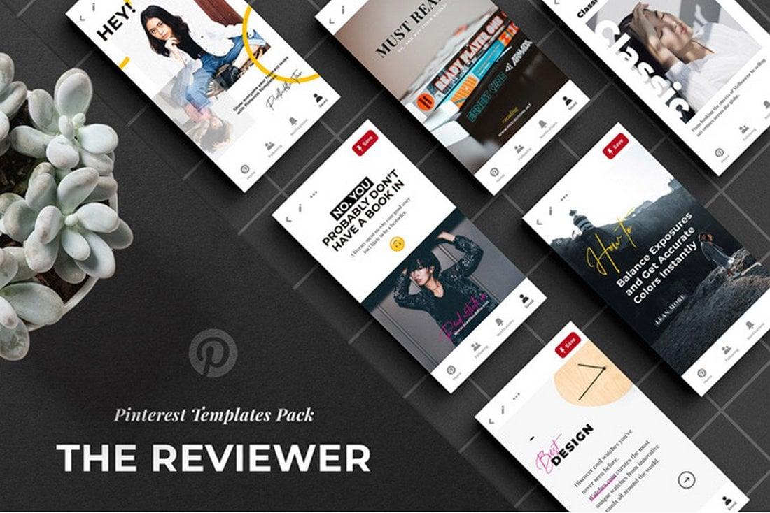 Free Pinterest Social Media Templates