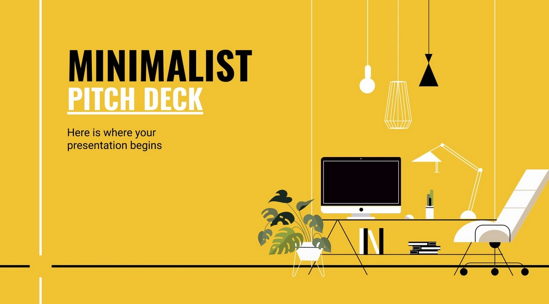Free Pitch Deck Google Slides Template