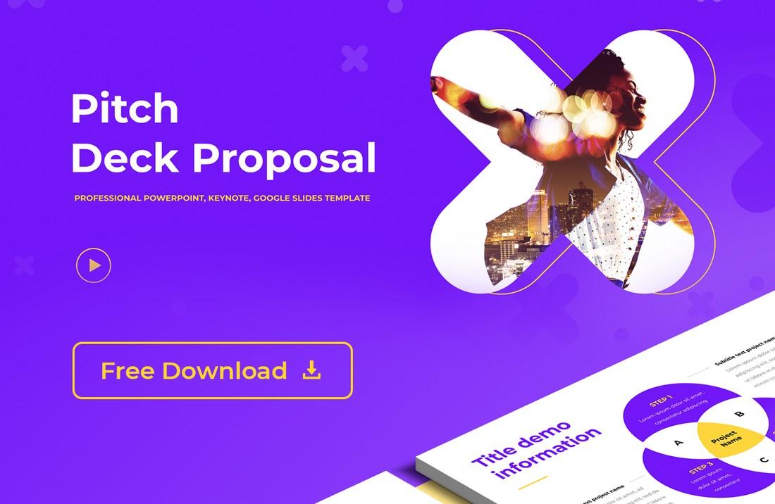 Free Pitch Deck Presentation for Google Slides