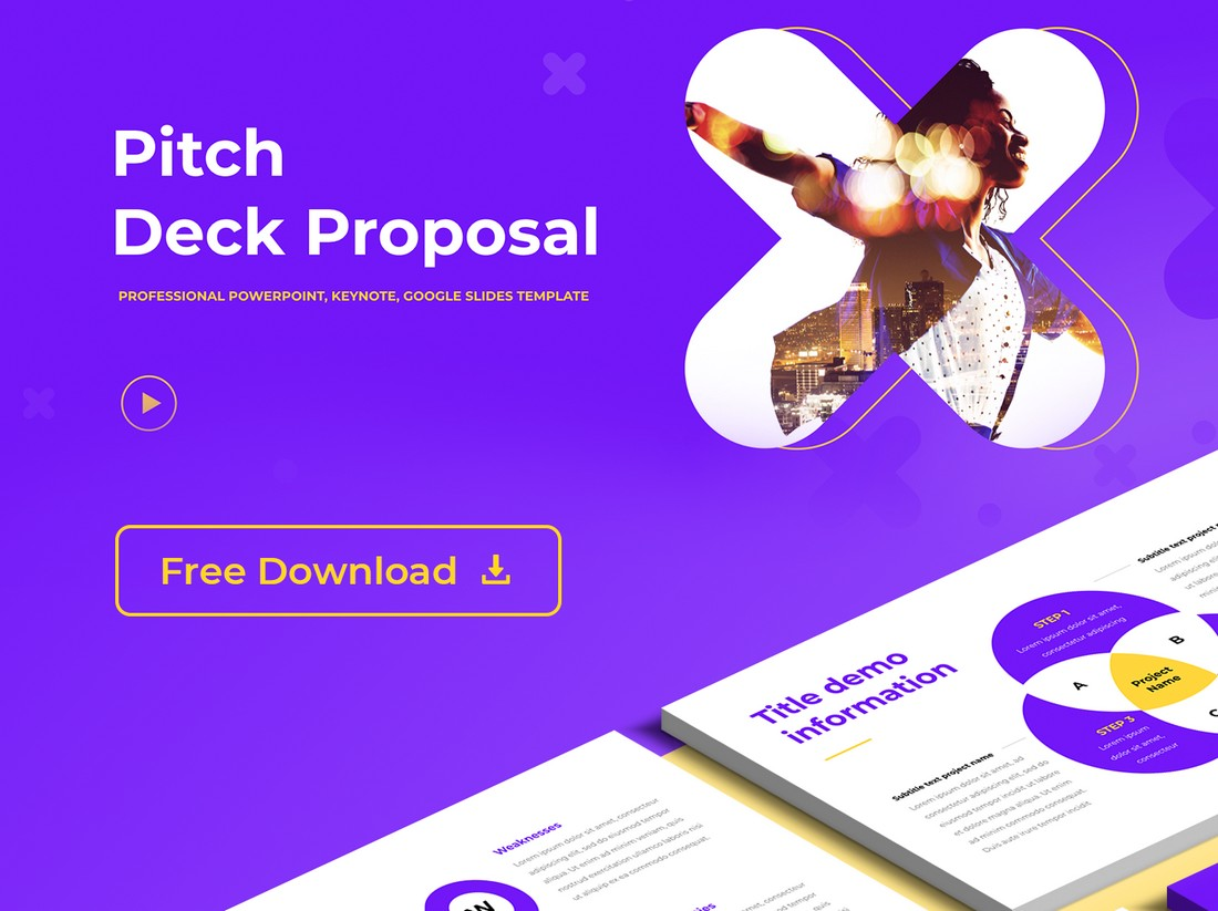 Free Pitch Deck Proposal PowerPoint Template