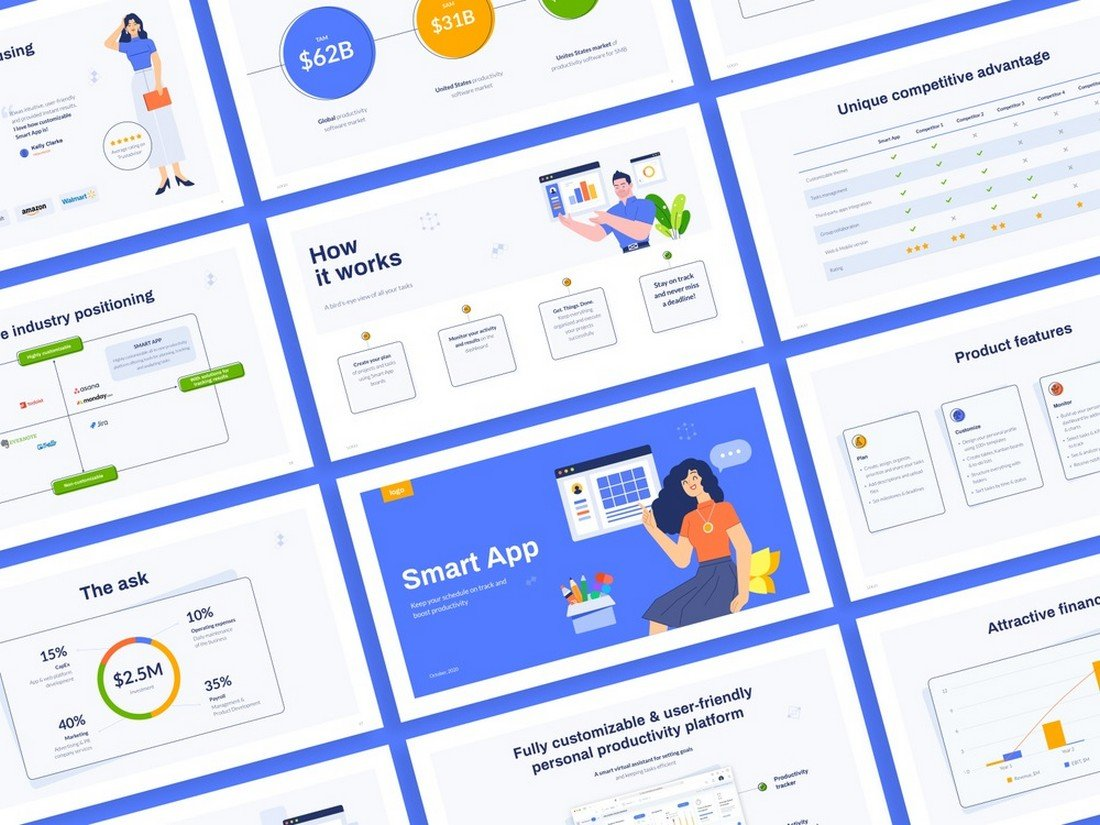 Free Pitch Deck Template for Keynote & PowerPoint