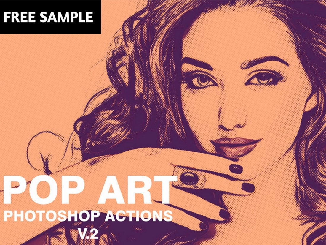 Free-Pop-Art-Photoshop-Actions 20+ Best Photoshop Filters + Plugins 2020 (+ How to Use Them) design tips