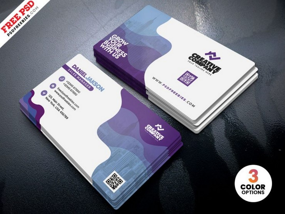 Free Premium Business Card Template