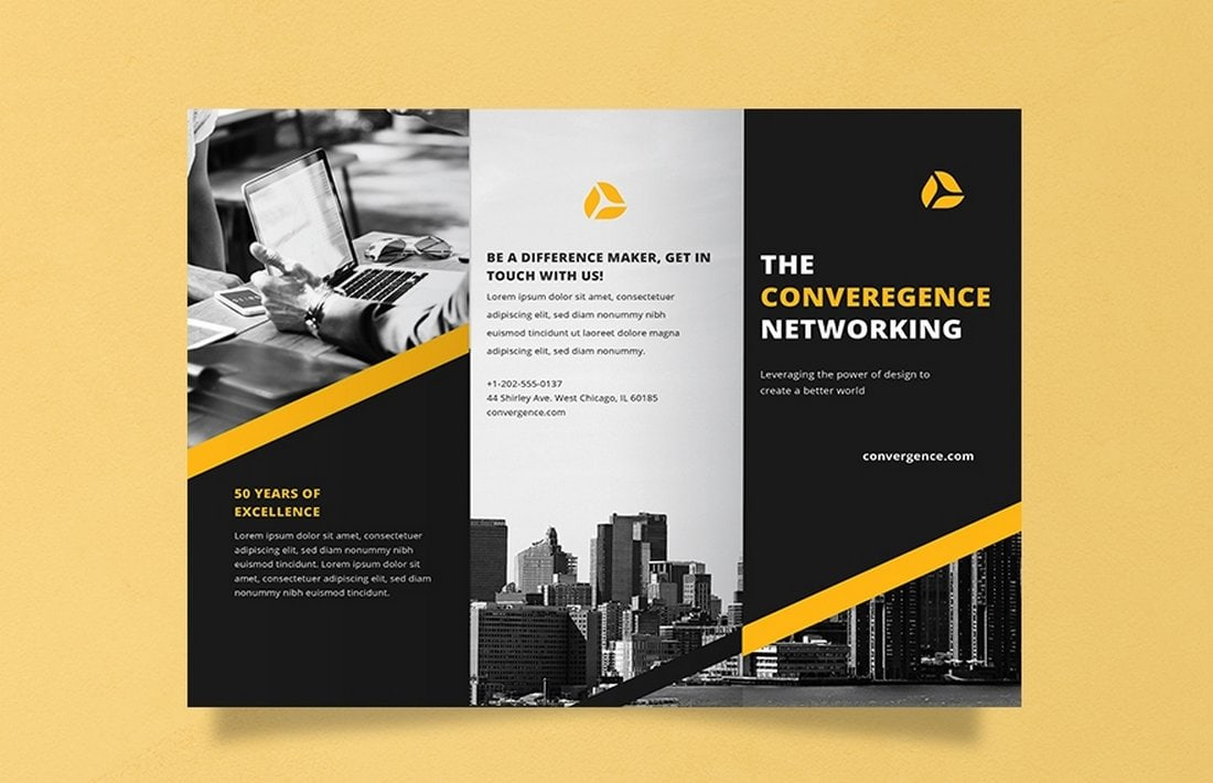 Free-Professional-Brochure-Template 40+ Best Microsoft Word Brochure Templates 2020 design tips  Inspiration|brochure|templates